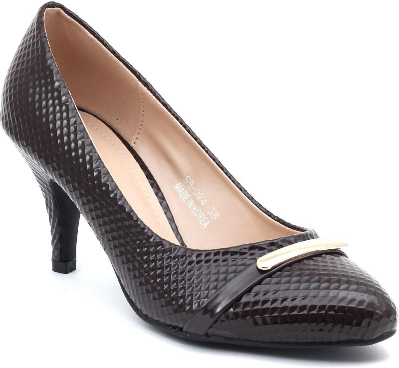 Shuberry Women Brown Heels
