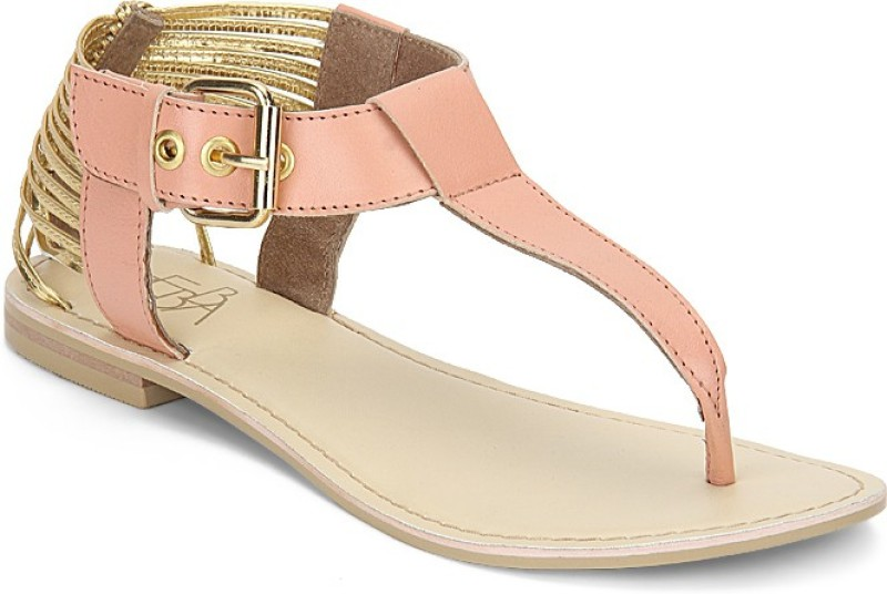 Zebba Women Peach Flats