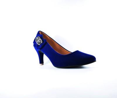 Multi Movin Girls Blue Heels