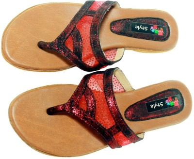 Meestyle Women Red Wedges