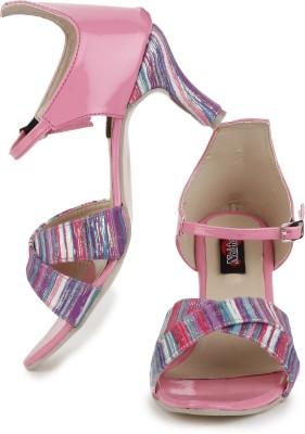 Naisha Women Pink Heels