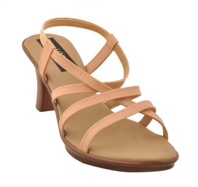 Senso Vegetarian Shoes Women Beige Heels
