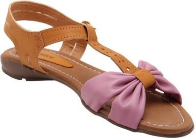 Solester Women Pink Flats