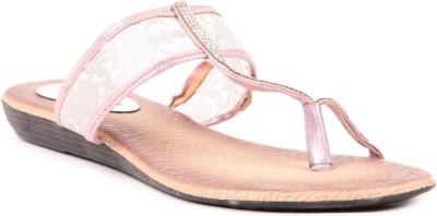 Lyc Pink Women Pink Flats
