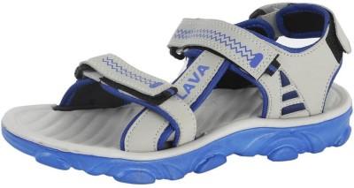 ABS Men Grey, Blue Sandals