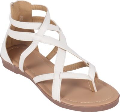 Rialto Women White Flats
