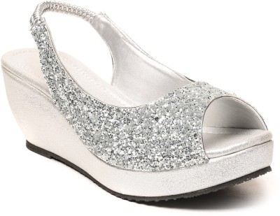 Anand Archies Women Silver Wedges