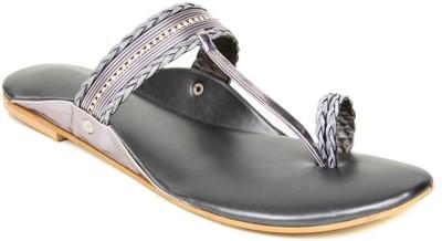 Kosher Klss027-Grey Women Grey Flats