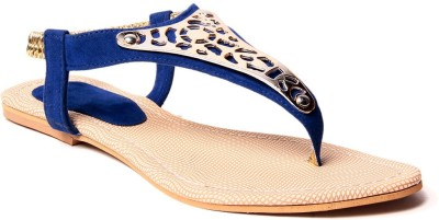 Unique Selection Women Blue Flats