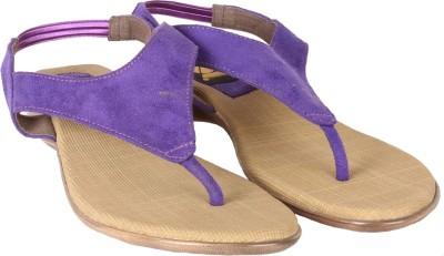 Gossip Women Purple Flats