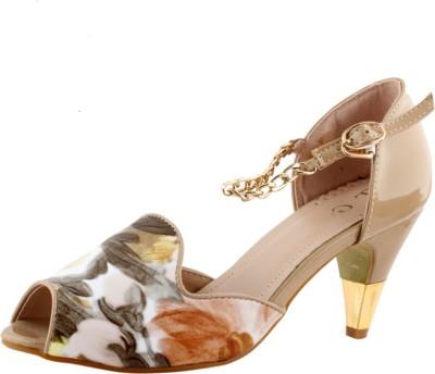 Totes Gallore Women Beige Heels