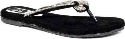 Just Flats Women Black Flats