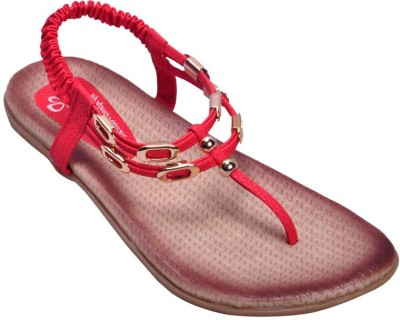 Ajanta Women Red Flats