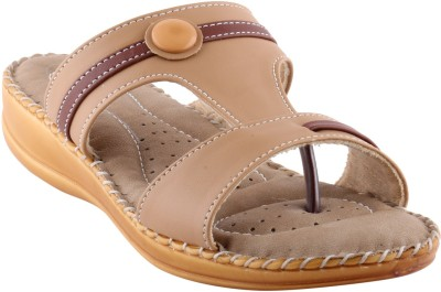 Metrogue Women Beige, Beige Flats