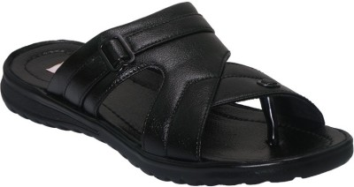 Vittaly Stylish & Comfortable Men Black Sandals