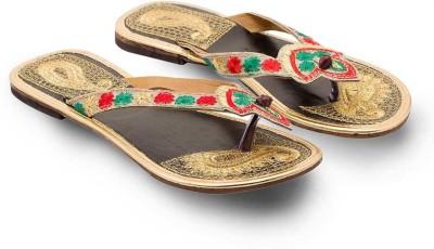 Ethnic Treat Women Multicolor Flats