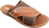 Aerosoft Men Tan Sandals