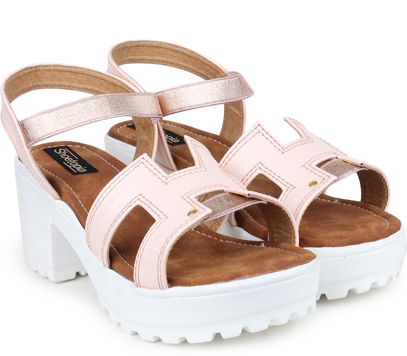 Deals - Bangalore - Block Heels <br> Carlton London, Mochi...<br> Category - footwear<br> Business - Flipkart.com