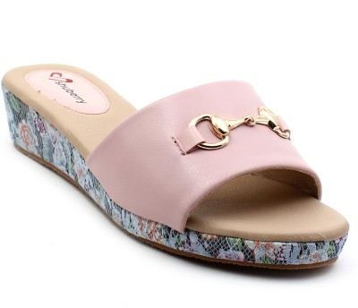 Shuberry Women Pink Wedges