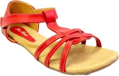 Russo Fashion Designer Women Red Flats