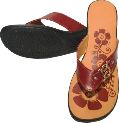 Damara Women Brown Flats