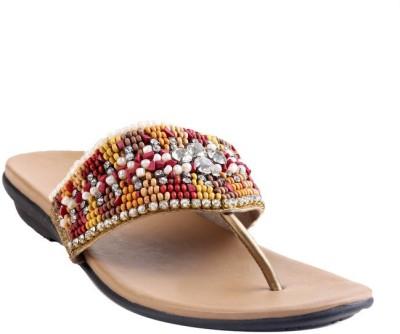 GLAMWALK Women Gold Heels