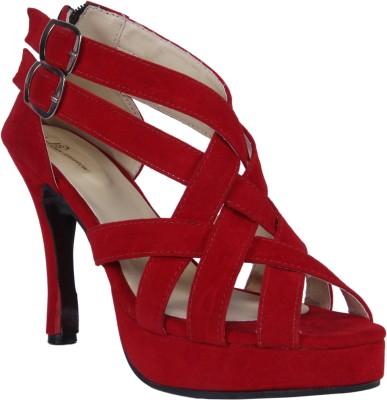 John Sparrow Women Red Heels