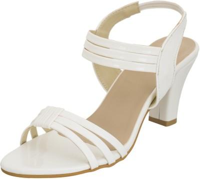 Advin England Women White Heels