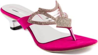 Womens Club Women Pink Heels