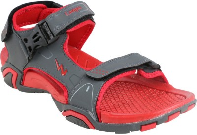 Action Campus Men Grey, Red Sandals
