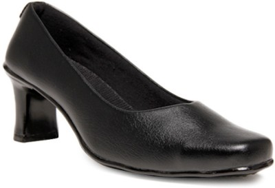 Select Black Formal Ballerinas Women Black Heels