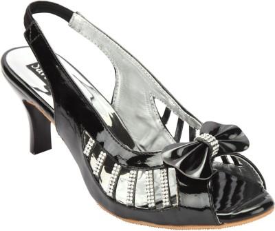 Savie Shoes Women Black Heels