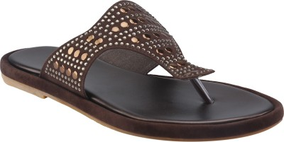 Shoe Bazar Women Brown Flats