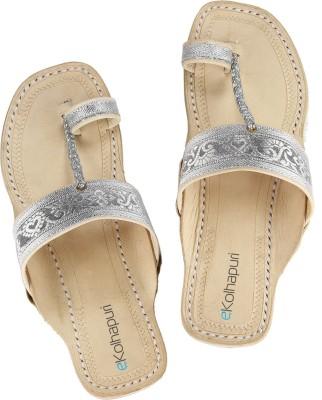 Ekolhapuri Women Silver Flats