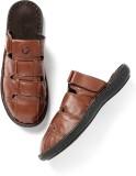 Roadster Men Tan Sports Sandals