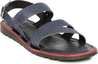 Harvard Men Navy Sandals