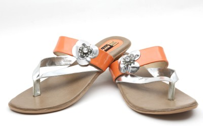 Rover Women Orange Flats