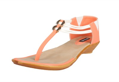 Style Her Women Orange Flats