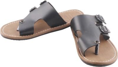 Gasser 450-Blk Men Black Sandals