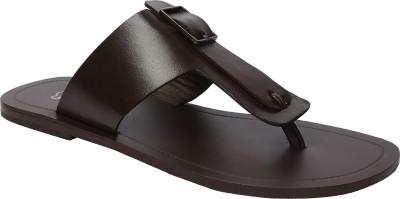 Shoe Bazar Men Brown Sandals