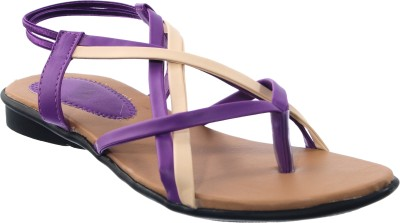 Cws Women Purple Flats