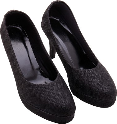 Royal Collection Women Black Heels