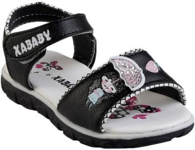 Glinchy Girls Black Flats
