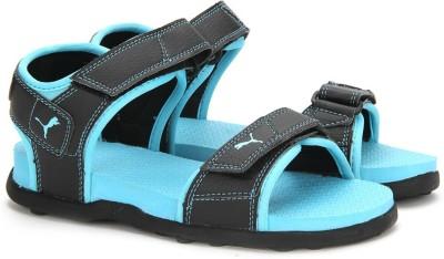 Puma Women Puma Black-Blue Atoll Sports Sandals