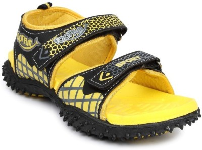 Footfun By Liberty Men Yellow Sandals