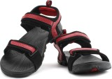 Fila Men Blk, Rd Sports Sandals