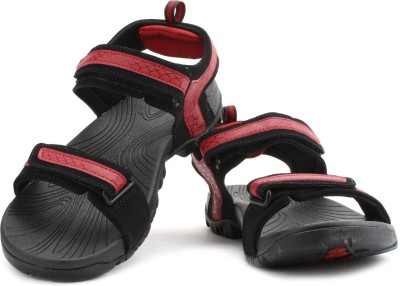 Fila Liberty Men Black, Red Sports Sandals