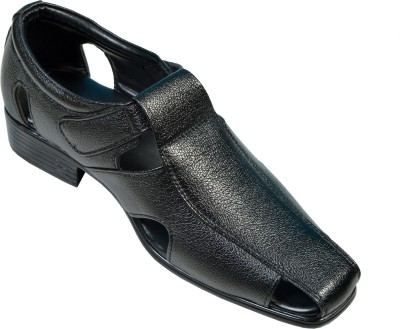 Gripwell Men Black Sandals