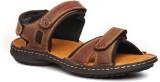 Pavers England Men BROWN Sports Sandals