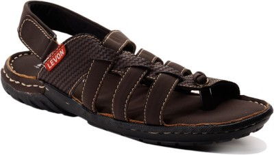 Levon London Men Brown Sandals